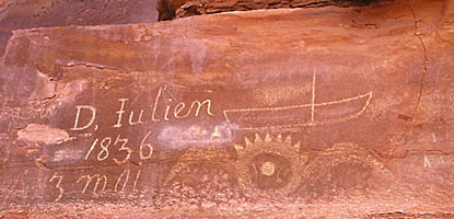 Denis Julien 1836 inscription